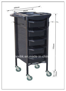Five Layers Iron with ABS Material Trolley Dn. A136 pictures & photos