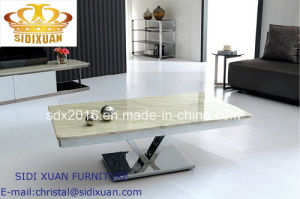 Living Room Furniture Stainless Steel Coffee Table pictures & photos