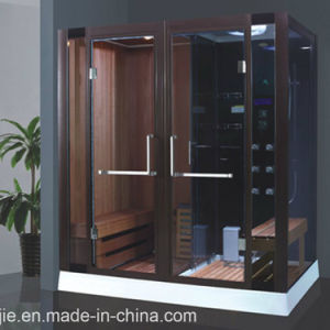 Luxury Style Dry and Wet Steam Sauna Room (804) pictures & photos