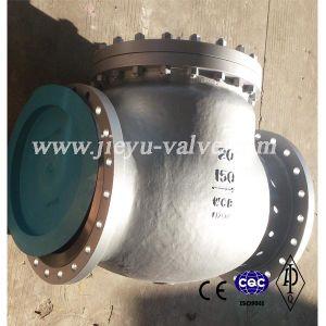 API 600lb Carbon Steel Swing Check Valve (H44H/H44W) pictures & photos
