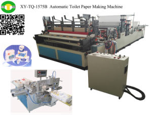 Automatic Slitting Rewinder Toilet Paper Converting Machine pictures & photos