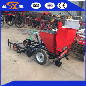 2016 Excellent 2-Row Potato Seeder/Planter with Fertilizing and Membrane Device pictures & photos