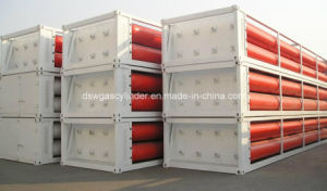 8 Gas Hydrogen (GH2) Tube-Bundle Containers pictures & photos