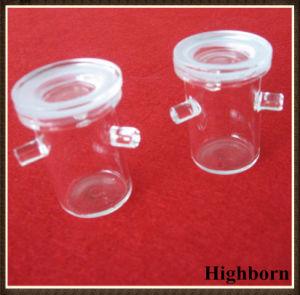 Transparent No Bubble Clear Rademacher Silica Quartz Crucibles pictures & photos