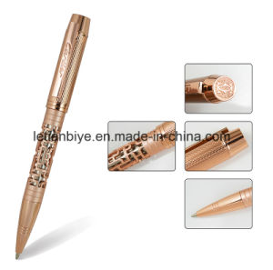 CNC Luxury Metal Pen, Hollow out Logo Customized Pen (LT-C809) pictures & photos