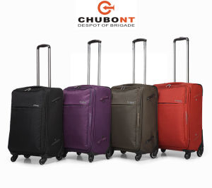 High Quality Exernal Spinner Wheels Chubont Travel Luggage Set pictures & photos