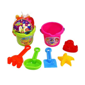 6PCS Plastic Kids Sand Beach Bucket Set (10241207) pictures & photos