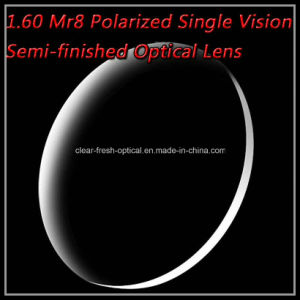 1.60 Mr8 Polarized Single Vision Semi-Finished Optical Lens