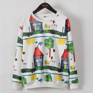 2016 Wholesale Women Clothes Custom Digital Printing Hoodies pictures & photos