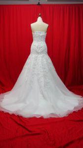 Mermaid Halter Top Quality Flower Bridal Wedding Dresses (AL006) pictures & photos