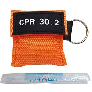 Hot Selling Wholesale Medical Appliances High Quality CPR Mask with Keychains