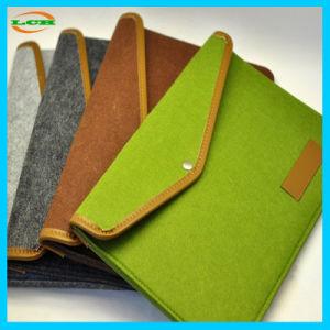 Wholesale Classical Wool Felt Meterail Laptop Bag Laptop Bag pictures & photos