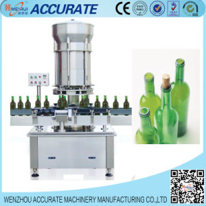 Automatic Red Wine Bottle Capper Capping Machine/Corking Machine pictures & photos