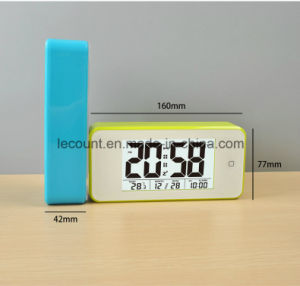 Digital LCD Calendar Clock with Backlight (LC845) pictures & photos