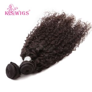 K. S Wigs 6A Grade Peruvian Hair Extension Natural Human Hair pictures & photos