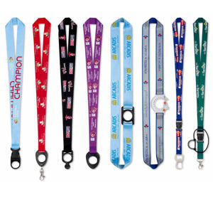 Custom Plain Polyester Lanyard pictures & photos