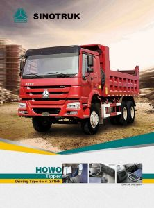 Popular Model HOWO Dump Truck of Sinotruk Tipper 6*4