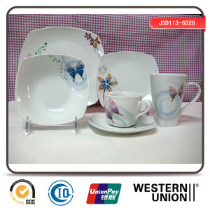 16PCS or 20PCS Ceramic Dinnerware in Butterfly Design pictures & photos