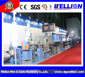 Cable Make Plastic Extruder Machine Factory pictures & photos