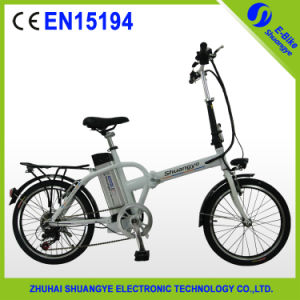 En15194 Approval Lithium Battery Folding E Bike (Shuangye A3) pictures & photos