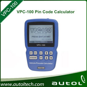Original Super OBD VPC-100 Hand-Held Device VPC100 Pincode Calculator (With 300 +200 Tokens) pictures & photos