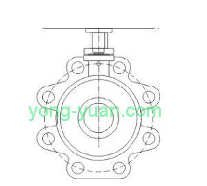 Wafer Type Electric Ball Valve, High Quality Ball Valve (DN65) pictures & photos