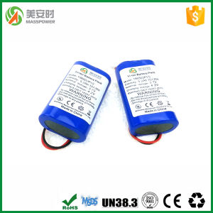 1s2p Two Cells 5200mAh 3.7V Battery