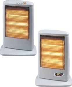 1200W Halogen Heater Heating by 3 Lamps Hot Sale in Europe, Portable Halogen Heater OEM
