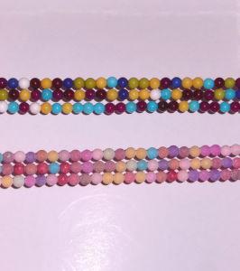 Semi Precios Stone Dyed Jade Crystal Bead <Esb01786> pictures & photos