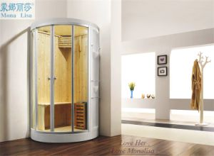 Family Using Hot Sale Acrylic Steam Sauna Room (M-8259) pictures & photos