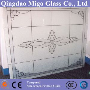 3-19mm Decorative Tempered Silk Screen Printing Glass pictures & photos