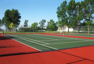 Tennis Court, Silicon PU Sports Court