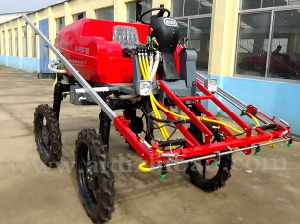 Aidi Brand 4WD Hst Self-Propelled Boom Sprayer for Muddy Field