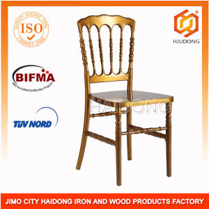 Samsung Polycarbonate Material Gold Resin Chiavari Napoleon Chair pictures & photos