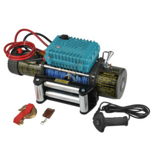 12V /24V Power Winch Synthetic Rope Winch 12000lb CE Approved for Jeep Car