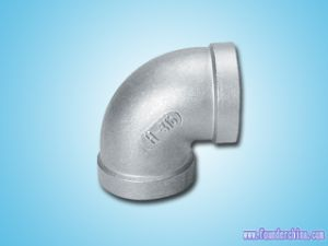 EU Type Stainless Steel Elbow Fitting pictures & photos