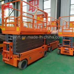 Ce Approved Battery Scissor Lift Mobile Lifting Table pictures & photos