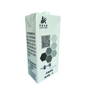 1L Aseptic Packaging Carton with Cap pictures & photos