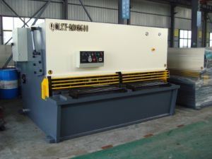 Hydraulic Pendulum Metal Cutting Machine and Hydraulic Swing Beam Metal Cutting Machine pictures & photos