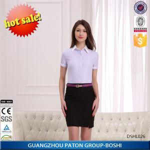 Office Uniform Designs for Women Blouses-Dshl026 pictures & photos
