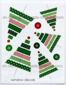 Decoration Static Window Decal/Window Sticker/Static Sticker for Holidays pictures & photos