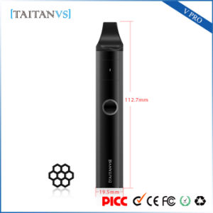 Health Care Ceramic Heating Wax Herbal Dry Herb Glass Vaporizer pictures & photos