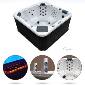 5-6 Person Hot Tub SPA Superior Quality Exterior Jacuzzi Hot Tub pictures & photos