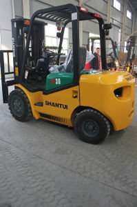 Ce Approved 3ton Forklift for India Market pictures & photos