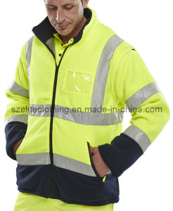 Customized Safety Polar Fleece Jackets (ELTHVJ-245) pictures & photos
