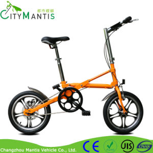 Mini Folding Bike Carbon Steel Pocket Bicycle for Students pictures & photos