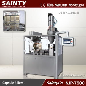 Njp-7500 Automatic Capsule Filling Machine, Automatic Capsule Filler, High Speed Capsule Filling Machine