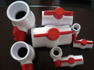 PVC Plastic F/M Threaded Single Union Ball Valves (FQ65012) pictures & photos