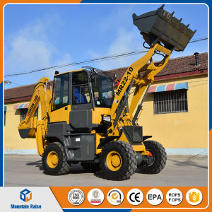 Chinese Mini Wheel Backhoe Loader pictures & photos