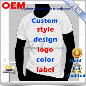 Wholesale Custom T- Shirt/Blank T-Shirt/Tee Shirt From China Manufacturer